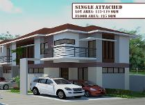 2 Storey Single Attached House Stanthony Dreamhomes Talamban