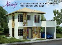 Elegance Model Single Detached House And Lot For Sale In Nostalji Enclave, Dasmarinas Cavite