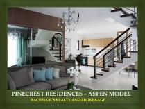 House And Lot For Sale At Pinecrest Residences In Cebu City