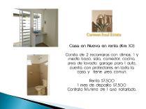 Casa en renta en Ciudad Del Carmen Centro, Ciudad Del Carmen