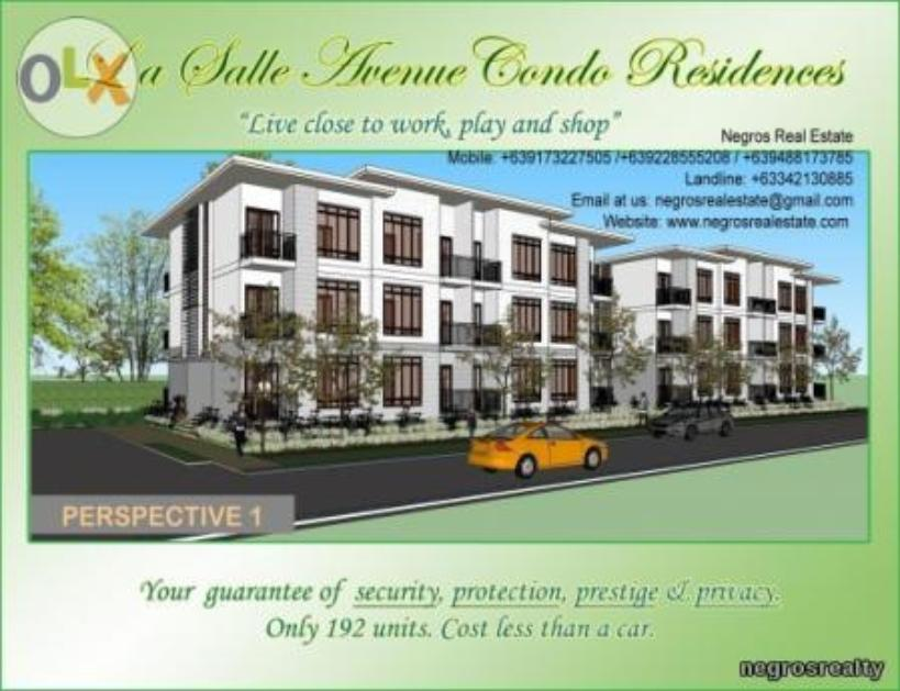 Condominium For Rent in Bacolod City, Western Visayas (region 6)
