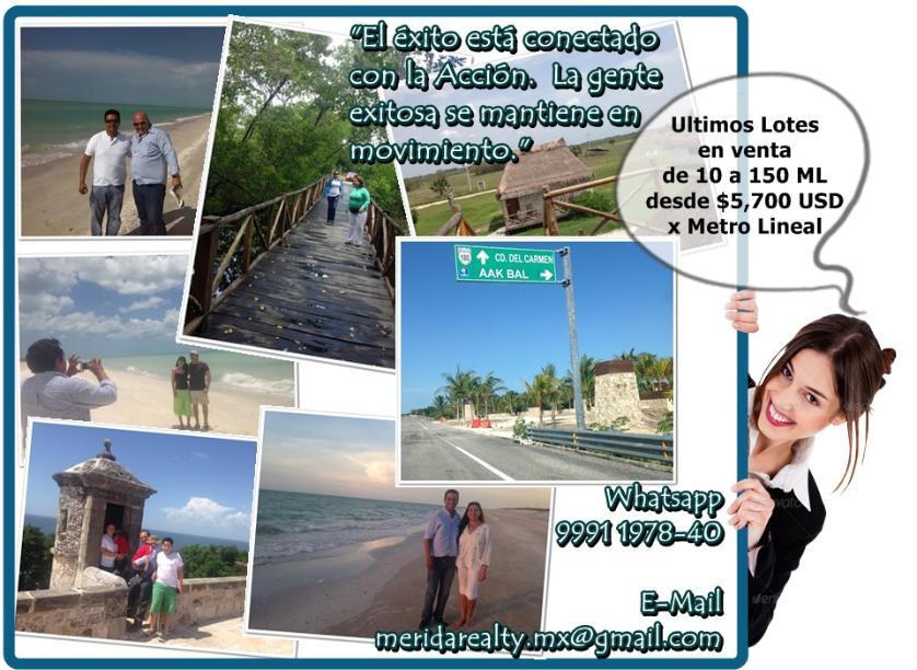 Lotes En Playas Virgenes Entre Isla Aguada Y Sabancuy: Venta Lote De Terreno En Sabancuy, Campeche