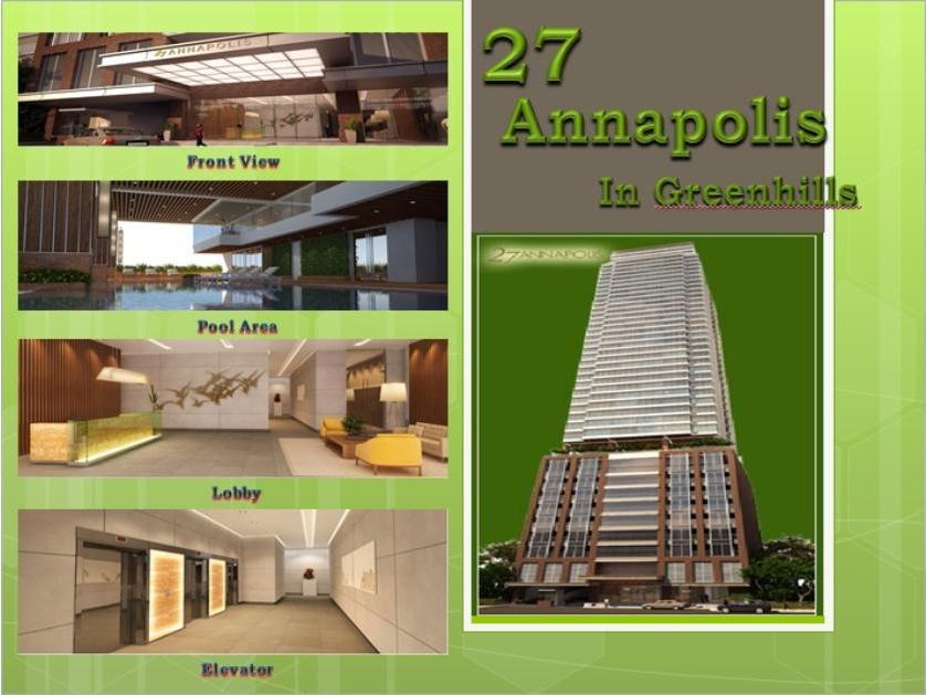 Condominium For Sale in 27 Annapolis In Green Hills San Juan, Greenhills, Metro Manila