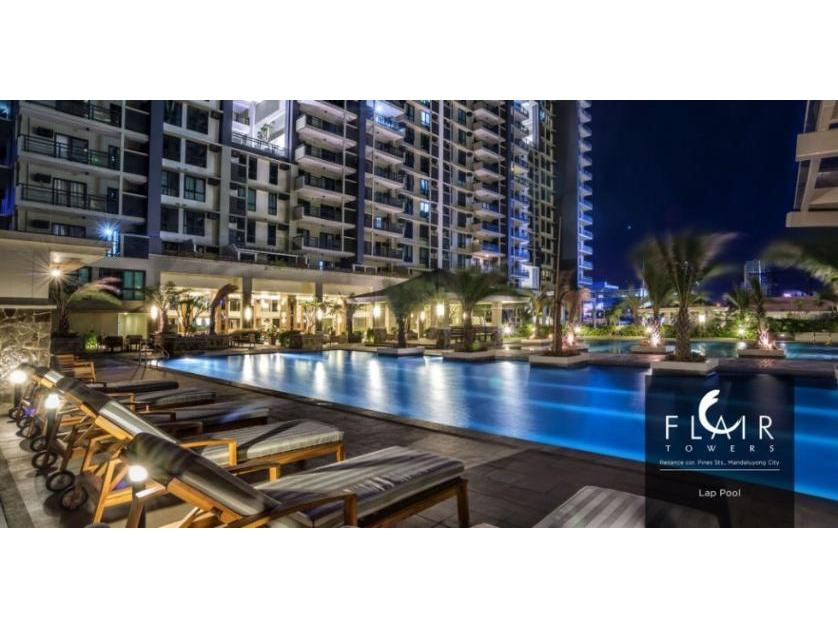 Studio Unit For Sale in Flair Towers Mandaluyong City near Edsa Shaw