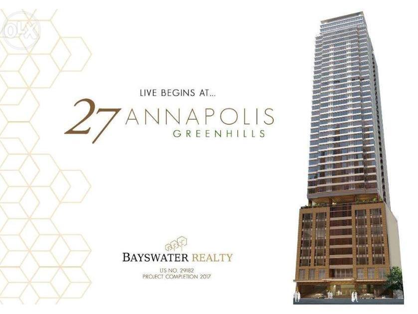 Condominium For Sale in 27 Annapolis Street, Greenhills San Juan City, Greenhills, Metro Manila