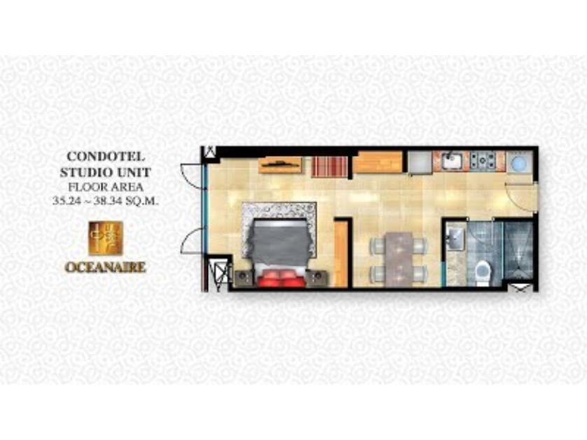 Condominium For Sale in Sunrise Drive Pasay City, Dfa, Metro Manila