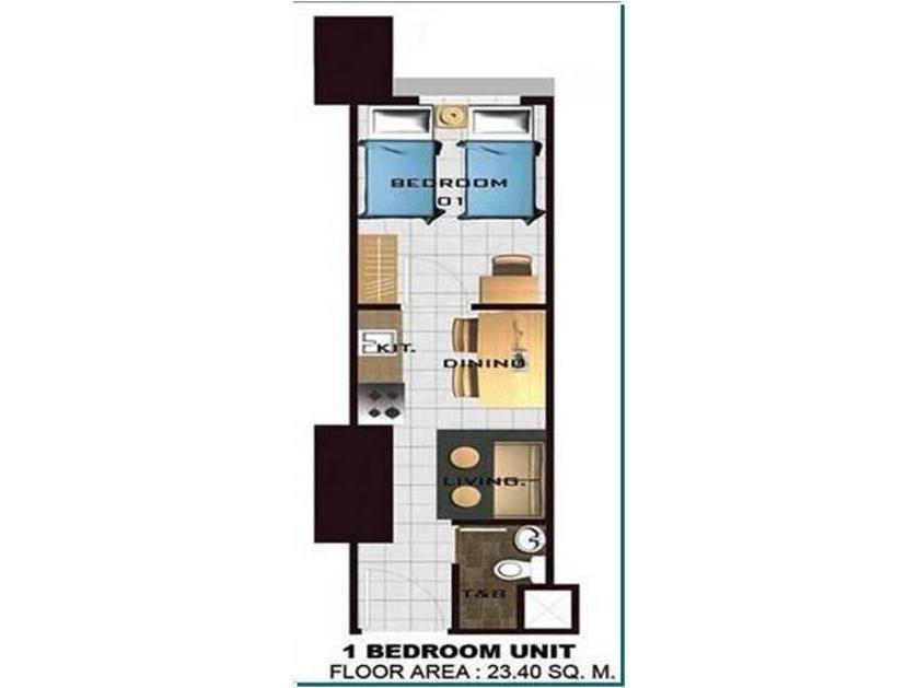 Condominium For Rent in E. Rodriguez, Metro Manila