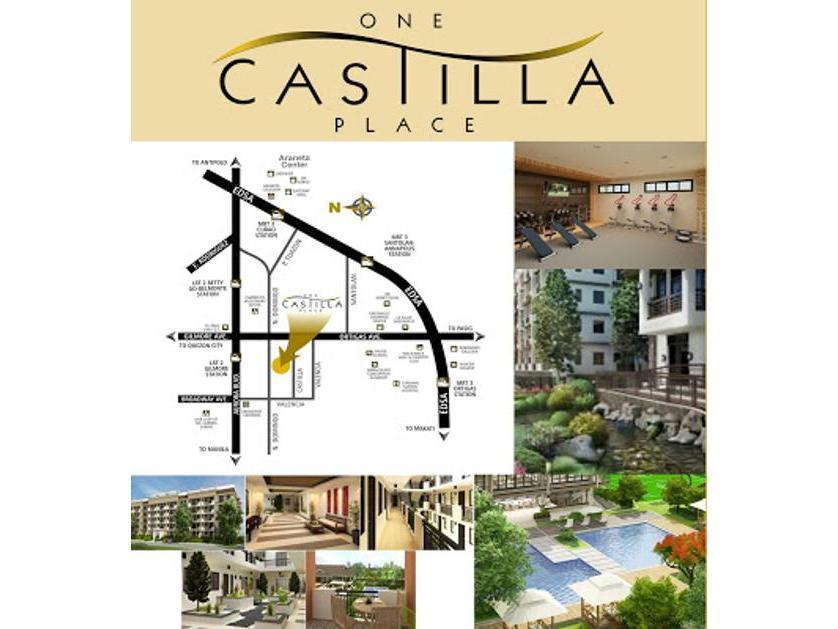DMCI One Castilla Place Condo 3br Unit For Sale in Quezon City